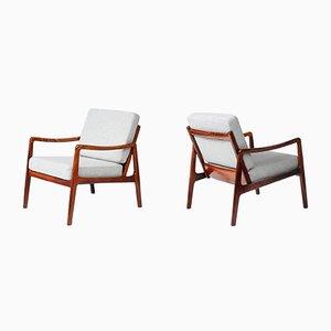 Sessel aus Palisander von Ole Wanscher für France & Søn, 1960er, 2er Set