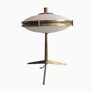 Vintage Brass Tripod Lamp, 1950s
