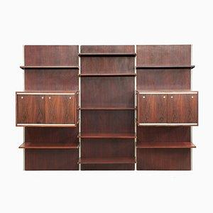 Vintage Rosewood Bookshelf by Kai Kristiansen