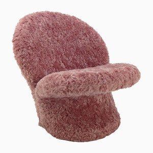 F572 Mohair Side Chair by Pierre Paulin for Artifort, 1967
