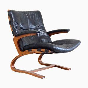 Kengu Chair von Elsa & Nordahl Solheim für Rybo Rykken & Co, 1980er