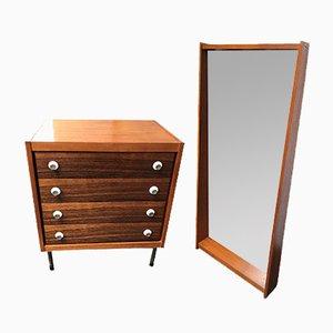 Vintage Dresser & Mirror, 1960s