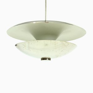 Vintage Chrome Ceiling Lamp by Franta Anyz