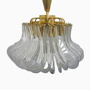 Lámpara de araña vintage de Bakalowits & Söhne, años 60