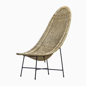 Stora Kraal Lounge Chair by Kerstin Hörlin Holmquist for Nordiska Kompaniet, 1950s