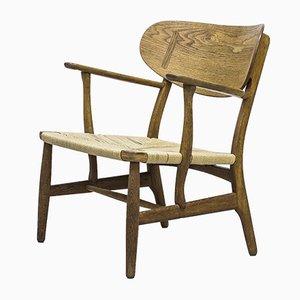 Ch 22 Sessel von Hans J. Wegner für Carl Hansen & Søn, 1950er