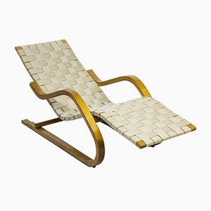 Vintage Model 39 Chaise Lounge by Alvar Aalto for Artek