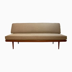 Danish Minerva Teak Daybed by Peter Hvidt & Orla Mølgaard Nielsen for France & Son, 1957