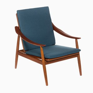 Danish Model 301 Easy Chair by Kurt Ostervig for Jason Mobler, 1956