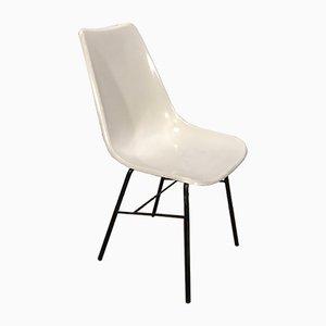 Grauer Vintage Stuhl von Miroslav Navratil für Vertex