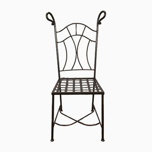 Vintage Iron Chair, 1930s