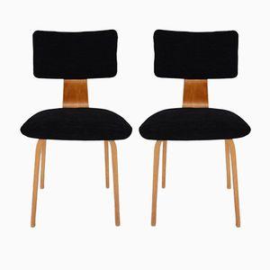 SB02 Stühle von Cees Braakman für Pastoe, 1952, 2er Set