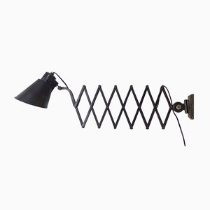 Vintage Extendable Industrial Wall Lamp from Bometal