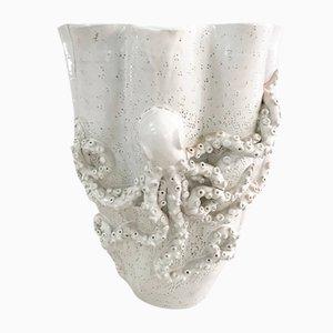 Italian Octopus Terracotta Vase, Italy