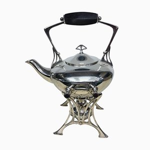 Art Nouveau German Silver Plated Samovar from WMF, 1900s
