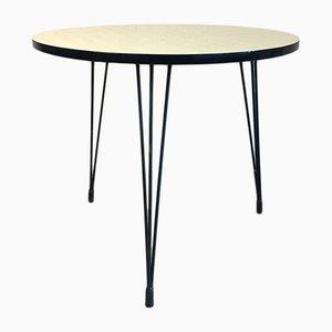 Vintage Tisch aus Resopal in Beige, 1960er