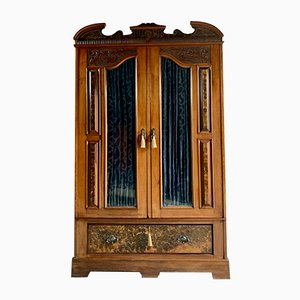 Antique Walnut Wardrobe, 1903