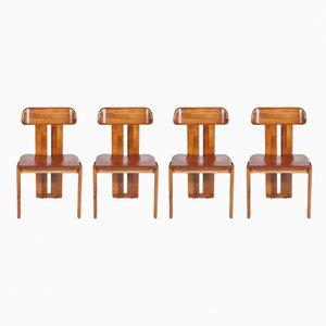 Stühle von Tobia & Afra Scarpa, 1980er, 4er Set