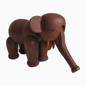 Danish Elephant Sculpture by Kay Bojesen, 1950s