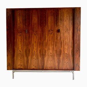 Mid-Century Rosewood Wardrobe, 1970s