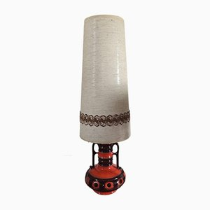 Vintage Ceramic Floor Lamp
