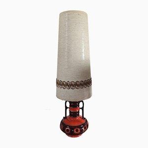 Vintage Stehlampe aus Keramik