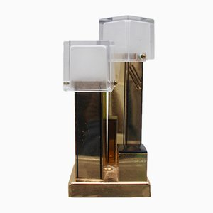 Mid-Century Spanish Brass Table Lamp, 1970s