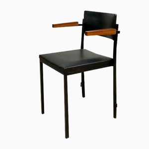 Mid-Century Industrial Dining Chair