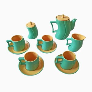 Tea Service Set by Massimo Iosa Ghini for Naj Oleari, 1985