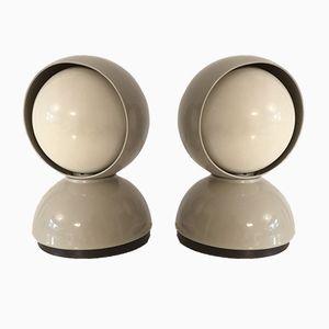 Eclisse Tischlampen von Vico Magistretti für Artemide, 1970er, 2er Set