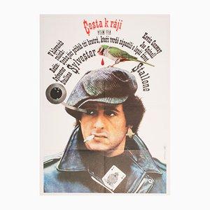 Paradise Alley Filmplakat von Karel Teissig, 1981