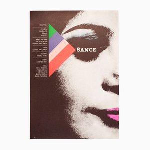 Chance Filmplakat von Karel Vaca, 1971