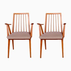 Vintage Armchairs from Lübke, 1960s, Set of 2
