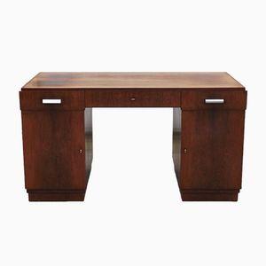 Vintage Art Deco Rosewood Desk from Speich Frères Paris