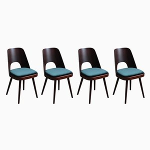 Vintage Stühle von Oswald Haerdtl, 4er Set