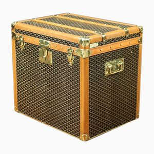 Herringbone Trunk from Goyard, 1920s