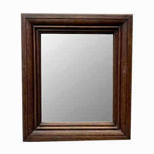 Specchio vintage con cornice in legno
