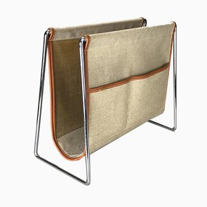 Mid-Century Magazine Rack by Verner Panton for Fritz Hansen