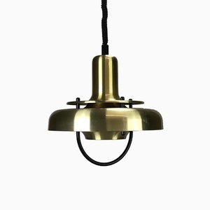 Vintage Danish Metal Ceiling Lamp
