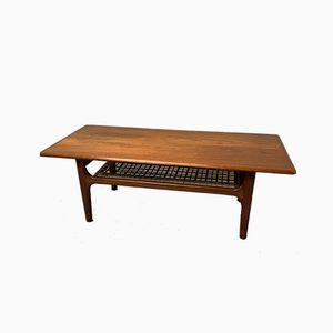 Table Basse Vintage en Teck de Trioh, 1970s