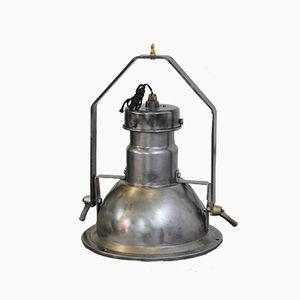 Lampe à Suspension Industrielle de Holophane, 1950s