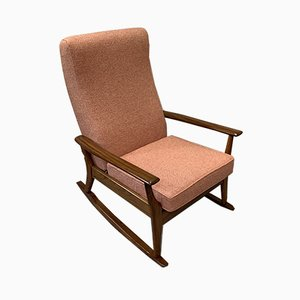 Vintage English Teak Rocking Chair