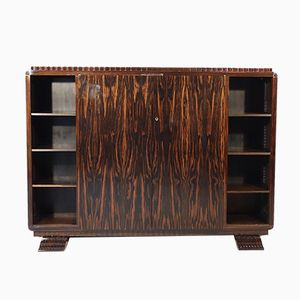 Vintage Art Deco Book Shelf