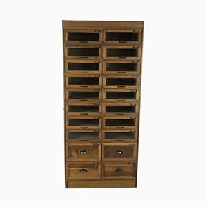 Oak Haberdashery Cabinet, 1920s