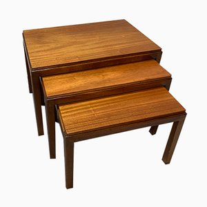 Tavolini ad incastro vintage di Gordon Russell