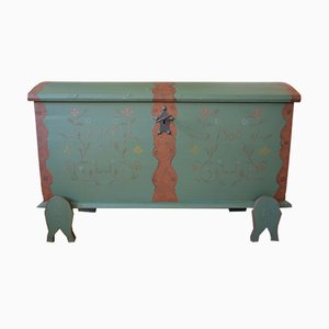 Antique Danish Hope Chest, 1863