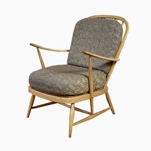 Vintage Model 335 Blonde Easy Chair from Ercol