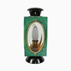 Lampe Lanterne de Bureau par Aldo Tura, 1960s