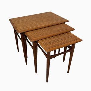 Tavolini ad incastro vintage di Kai Kristiansen, anni '60