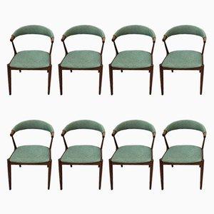 Chaises de Salon Vintage par Johannes Andersen, 1960s, Set de 8